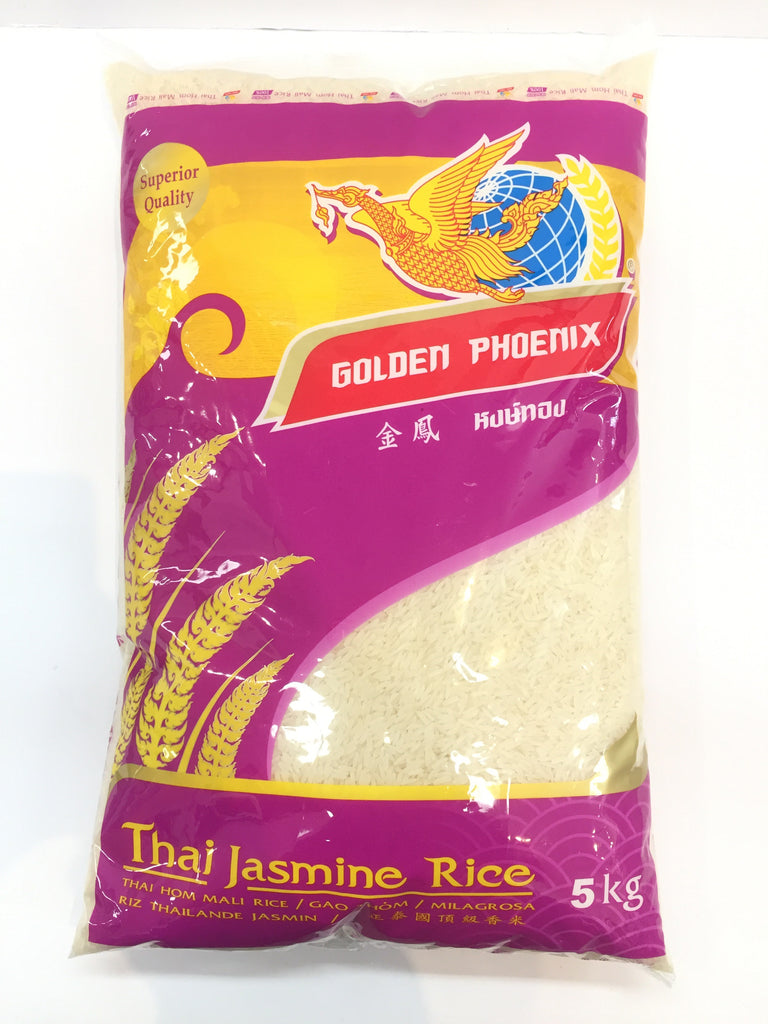 GOLDEN PHOENIX JASMINE RICE 金凤凰茉莉香米5KG