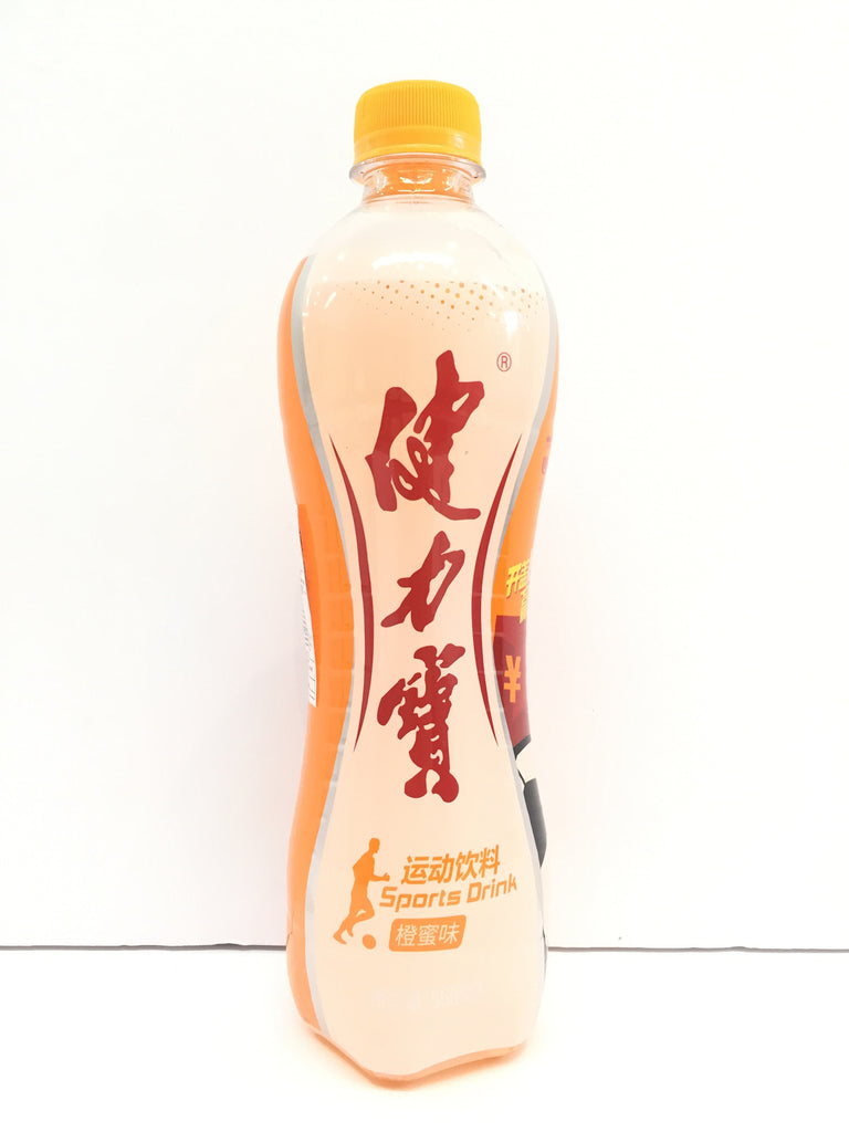 Jianlibao Sports Drink Orange Flavour 健力宝橙蜜味饮料 560ml