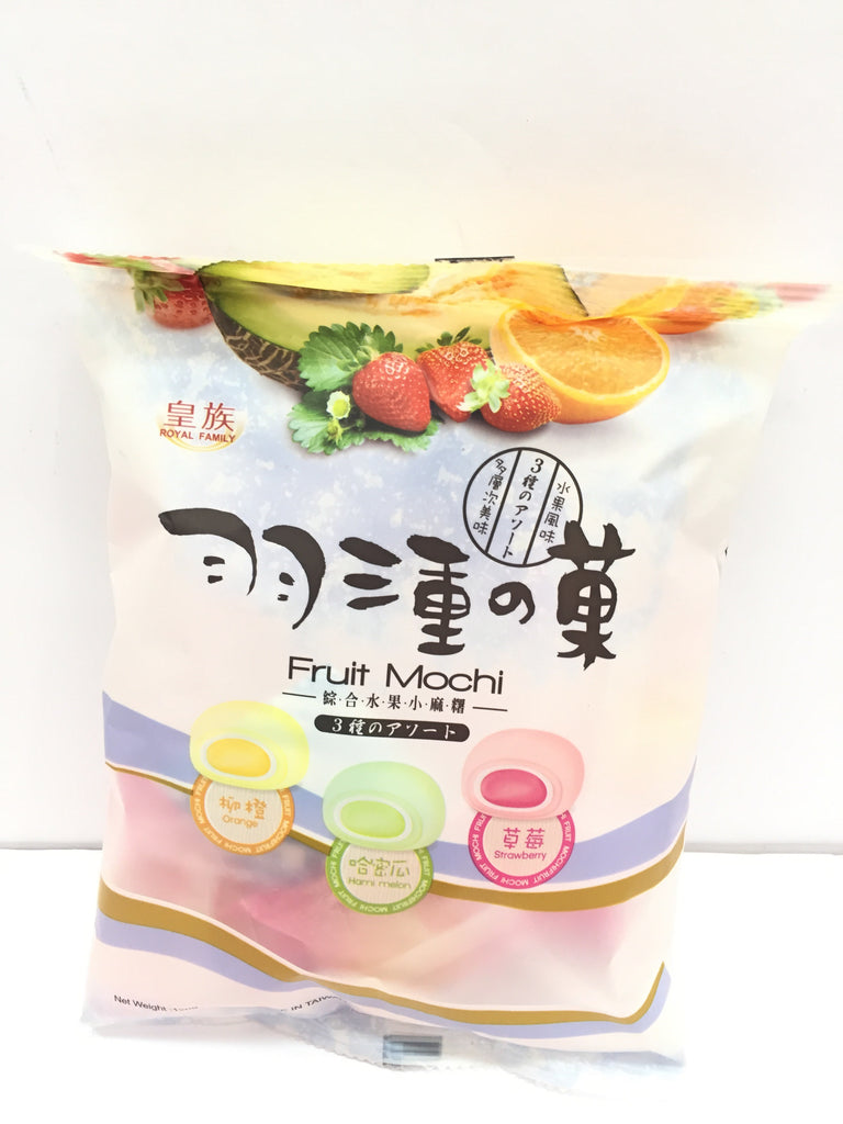 RF FRUIT MOCHI(MIX) 羽三重的果(综合水果小麻糬) 120g