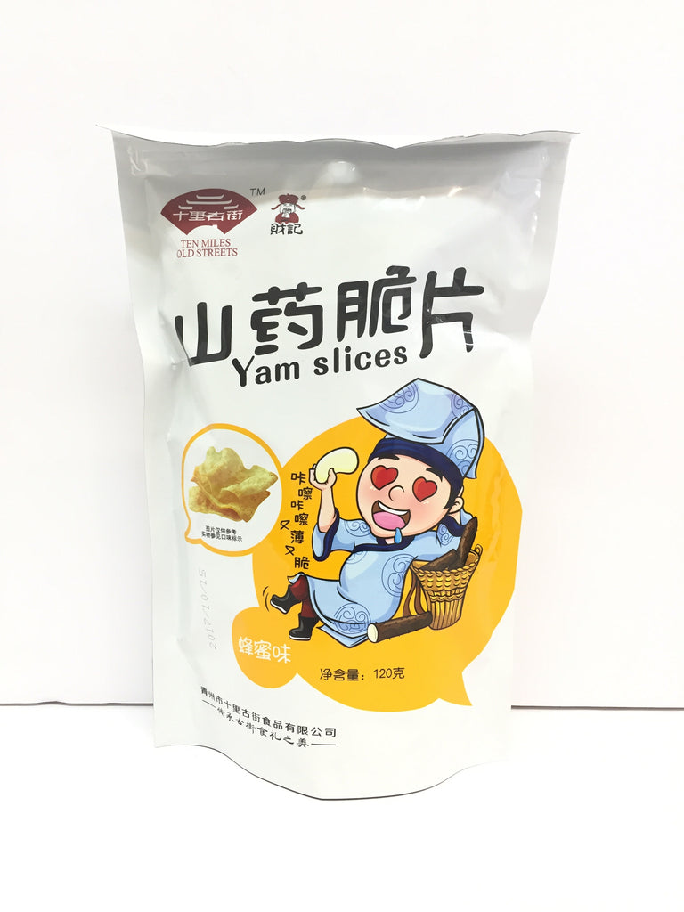 Ten Miles Old Streets Chinese Yam Chips (Honey ) 十里古街山药脆片(蜂蜜) 120g