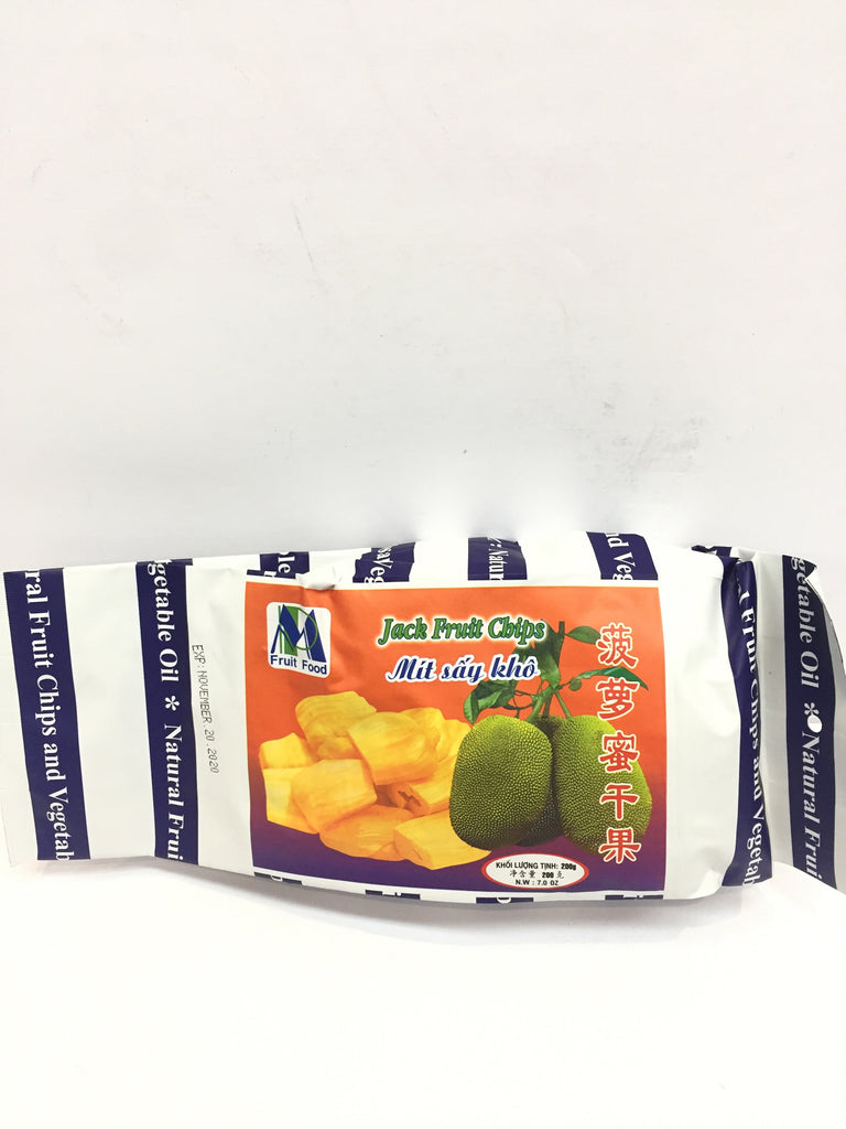 MP DRIED JACK FRUITES CHIPS 菠萝蜜干果200g