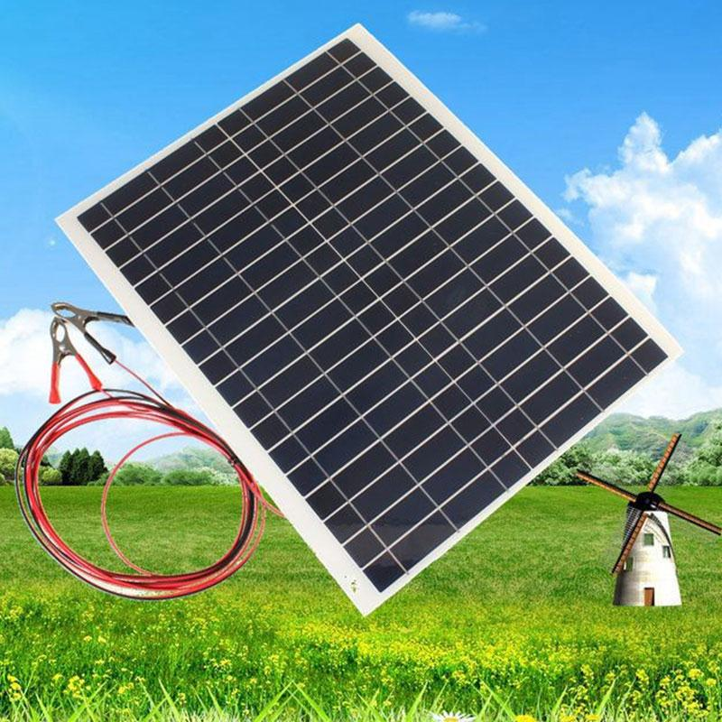 Outdoor 20W 12V Charger Kit-Diy Foldable Solar Panel