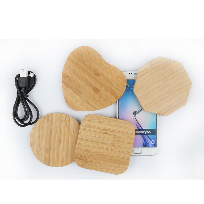 Universal Wooden Wireless Charger