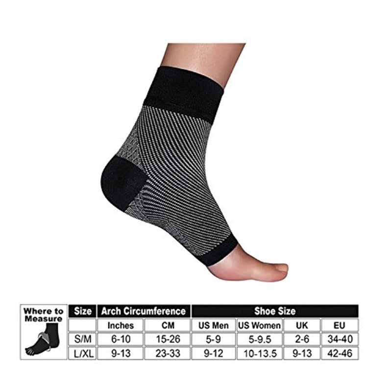 Unisex Toeless Plantar Fasciitis Compression Socks