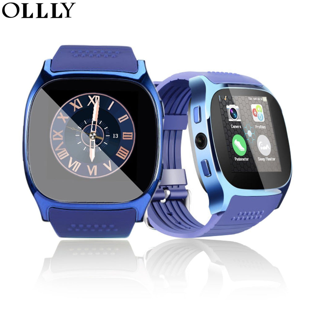 Bluetooth Smart Watch with SIM Card &TF Card Slot With Camera Sync Call Message