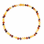 Baltic Amber Teething Necklace/Bracelet for Baby - 4 Colors