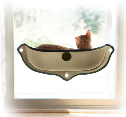 Portable Window Mounted Cat Bed - gifts for cat lovers - cat themed items - cat gifts - purfectpetgifts