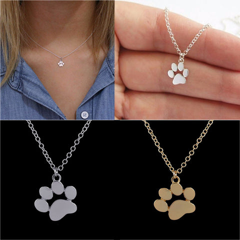 Cat Paw Necklace - gifts for cat lovers - cat themed items - cat gifts - purfectpetgifts