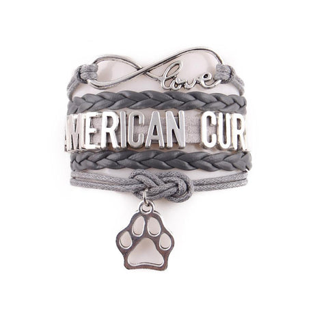 "Handcrafted Leather ""American Curl"" Cat Lover's Bracelet - gifts for cat lovers - cat themed items - cat gifts - purfectpetgifts"