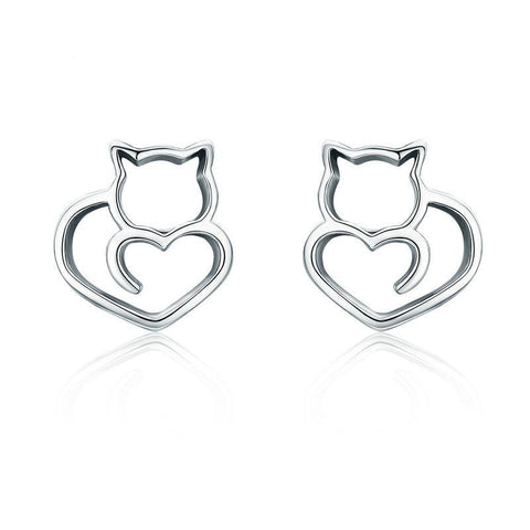 Beautiful Cat Lovers Ear Rings - gifts for cat lovers - cat themed items - cat gifts - purfectpetgifts
