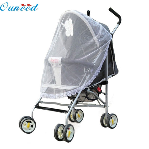 Ouneed Lovely Pets Factory Price Universal Lace Safe Baby Carriage Insect Mosquito Net or Baby Stroller Cradle Bed Net Aug25 [variant_title]