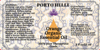 Orange Organic Essential Oil 100% Therapeutic Grade