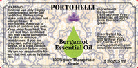 Bergamot Essential Oil 100% Therapeutic Grade