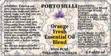 Orange Fresh Essential Oils Blend