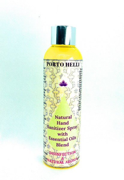 Natural Hand Sanitizer Spray with Essential Oils Blend