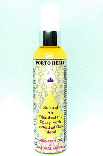 Natural Air Disinfectant Spray with Essential Oils Blend