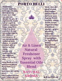 Air&Linen Natural Air Freshener Spray with Orange Fresh Essential Oils Blend