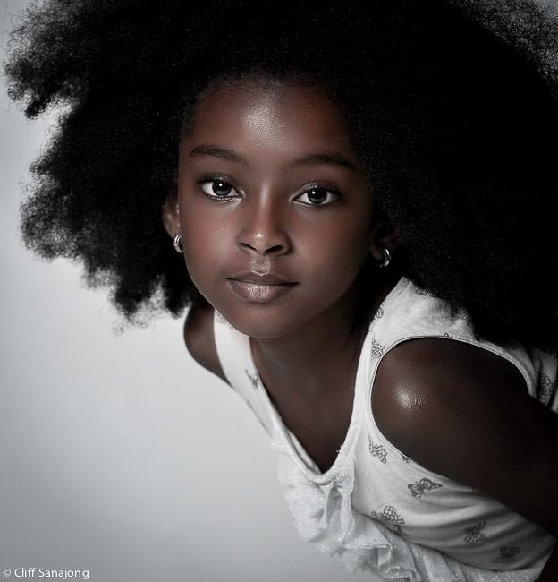 Cherelice Suriname's youngest natural hair model who broke the internet