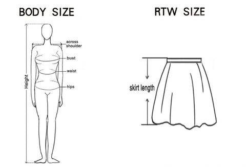 Skirt measurement