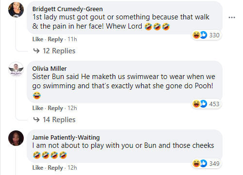Facebook Comments Black women at the pool