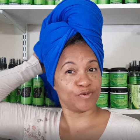 Microfiber Hair Towel for Locs, Braids, Dreadlocks and Afro Hair