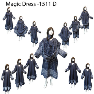 Moroccan Magic Dress Denim