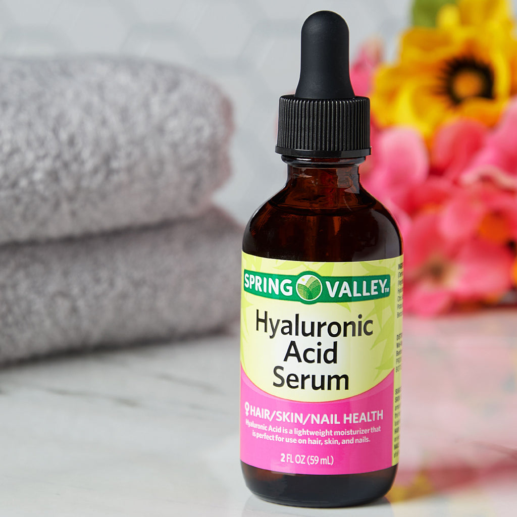Effective Hyaluronic Acid Serum for Hair, Skin & Nails