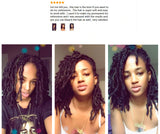 Afro Kinky Bulk Human Hair for Locs & Braids - Remy Peruvian natural color