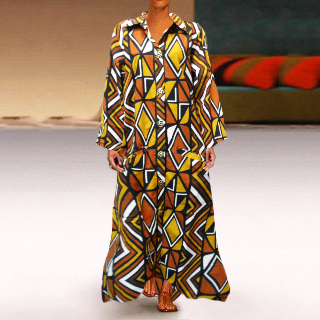 African Mud Coat - Long