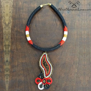 One of a kind Handmade Masai Necklace