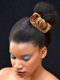 Large Velvet Scrunchie for Afro Puffs.