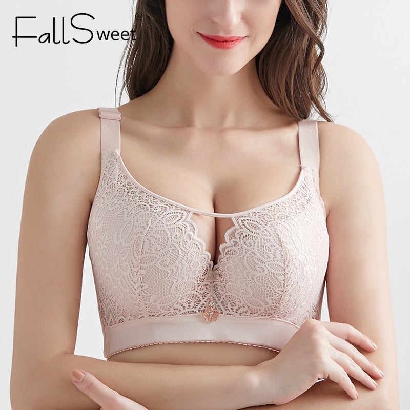 Plus Size Wireless Bra for with Full Coverage