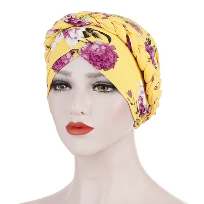 Easy Prewrapped Turban Headwrap