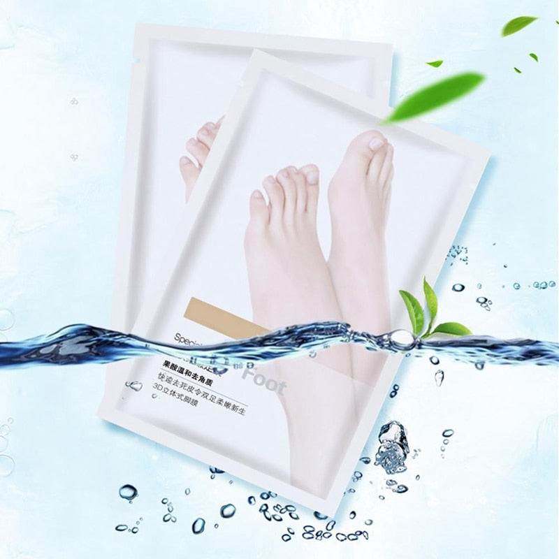 Easy at Home Exfoliating Foot Mask