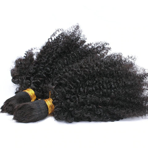 Afro Kinky that blends with 4C Hair