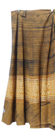 Long Wrap Skirt Indian Style