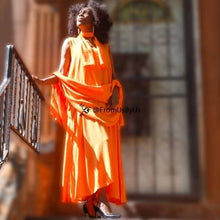 Moroccan Magic Dress Orange