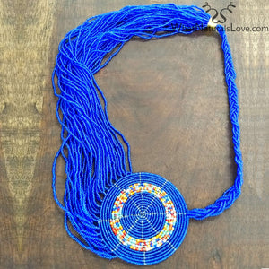 Tribal Beaded Necklace from the Masai