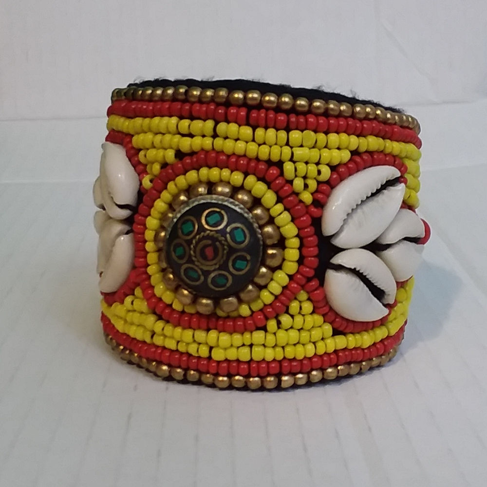 Fancy Beaded Cuff