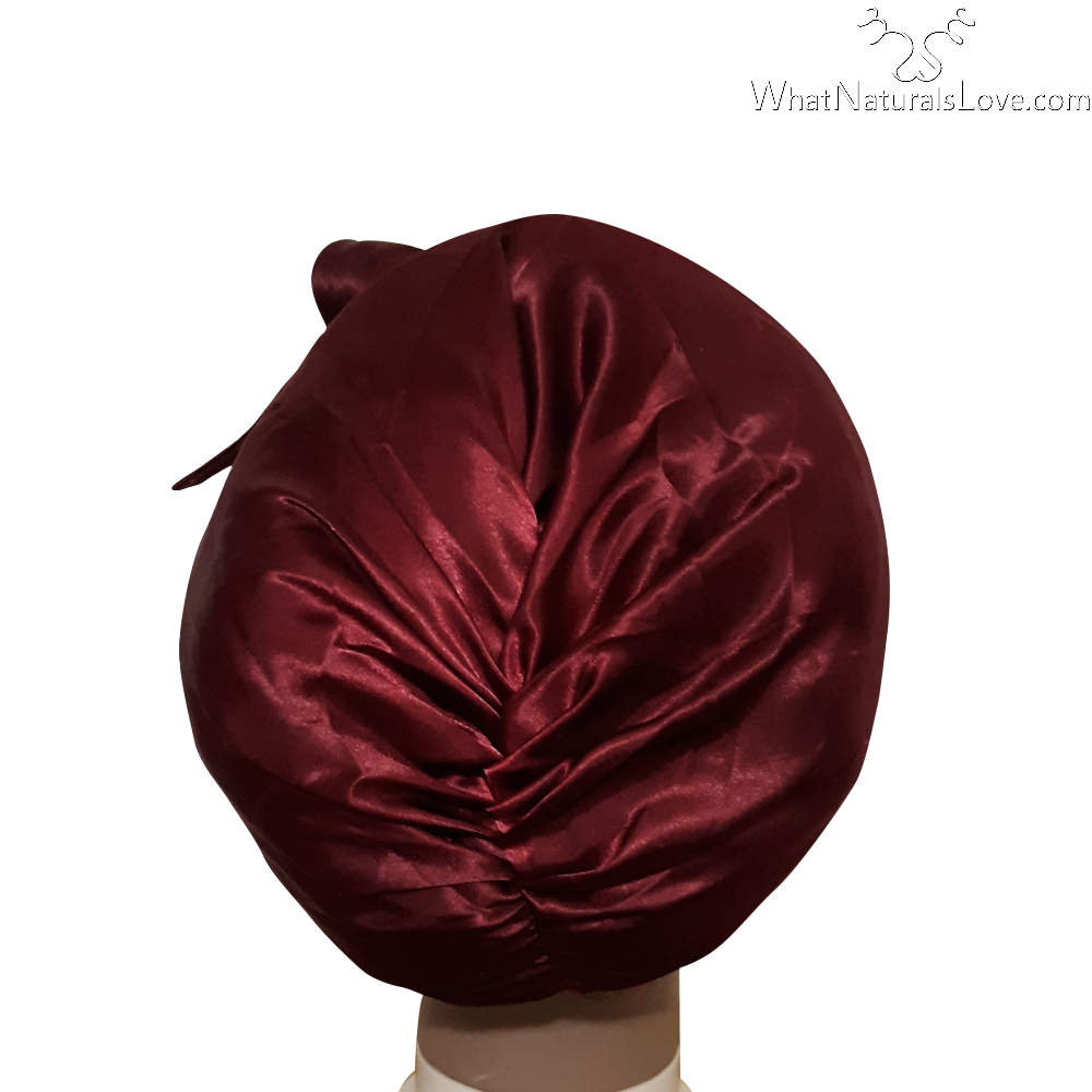 Super Comfi Satin Bonnet for Braids, 4C Natural Hair, Locs, Twist and weaves