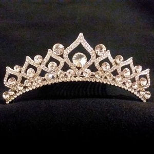 Bridal Tiara with Swarovski Crystal