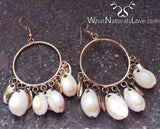 High Quality Cowrie Shell Earrings that last