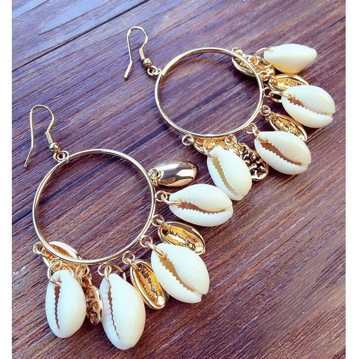 Cowrie Shell Earrings that never go out of Style