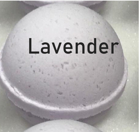 Lavender Shampoo Bomb to  wash locs, braids, 3C and 4C natural hair -