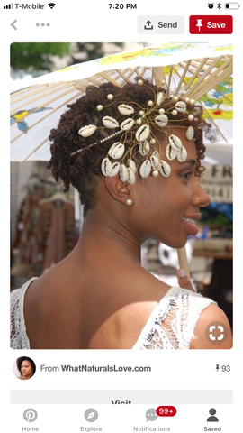Bridal Cowrie Shells with Rhinestones