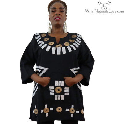 African Dashiki Kwanzaa Cotton Shirt Variety Colors