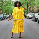 Moroccan Magic Dress Yellow