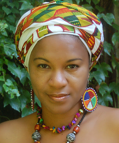 Pangi Handmade Wraps from the Maroons in Suriname