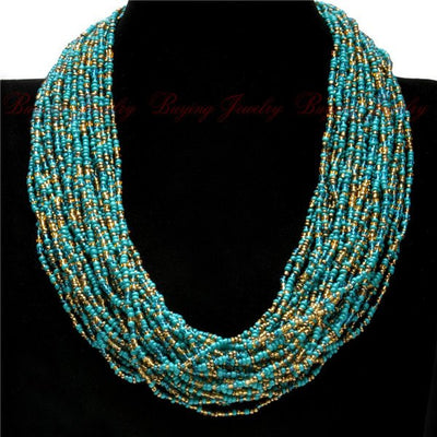 Handmade African Beaded Necklaces