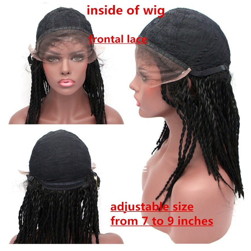 Lace Front Senegalese Twists Wig
